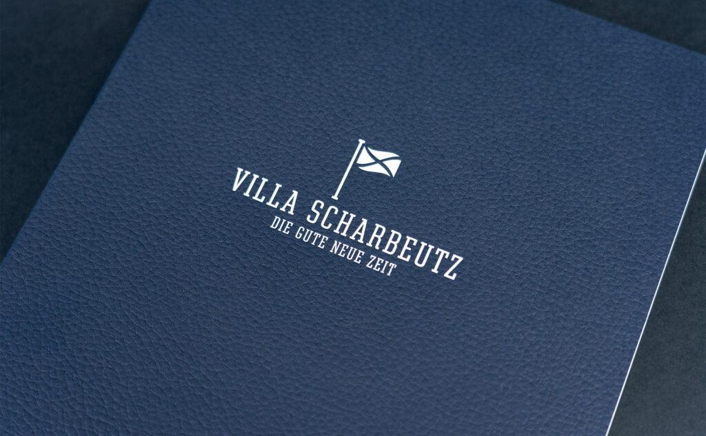 Broschüre Villa Scharbeutz als Beispiel für erstklassige Druckprodukte