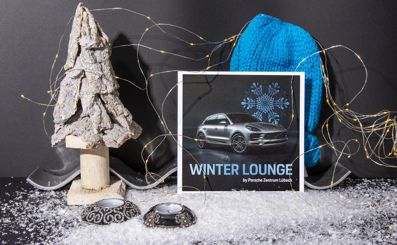 Individuelle Druckprodukte für die Porsche Winter Lounge