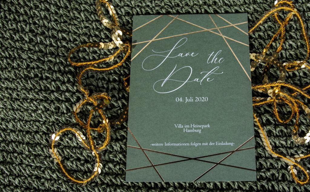 Hochzeitskarten mit Liebe drucken