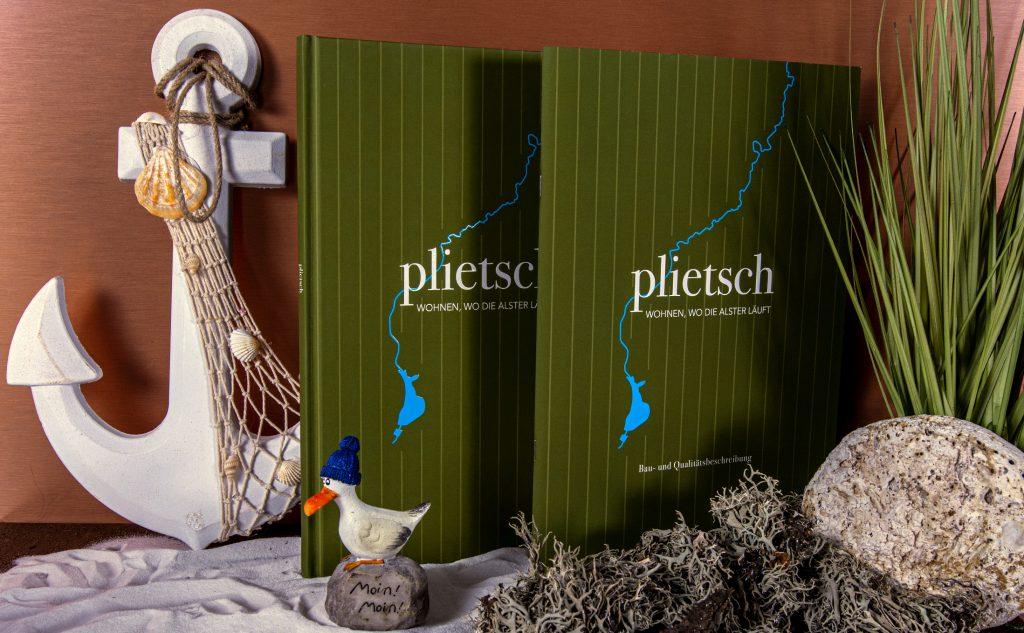 Hardcover Fadenheftung aus Hamburg als hochwertige Bindung für Broschüren.