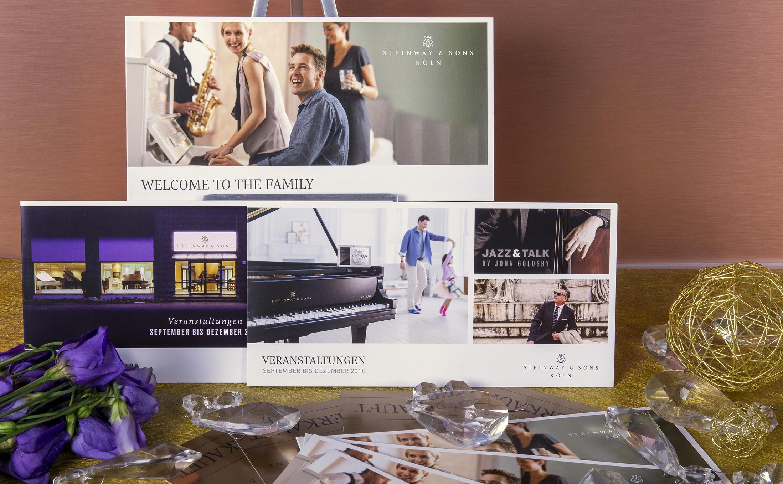 Steinways Flügel und Klaviere im Offsetdruck