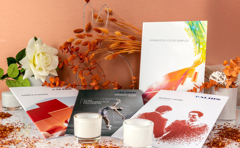 Auffallende visuelle Kontraste mit Albis Printprodukten aus Hamburg für eine erfolgreiche Kundengewinnung.