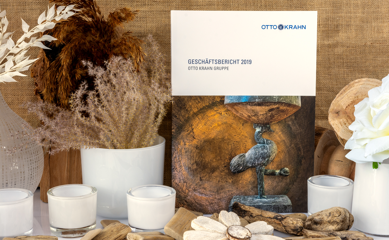 Softcover Klebebindung für die Otto Krahn Gruppe in Hamburg